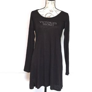 Victoria's secret long sleeves pajama gown, size M
